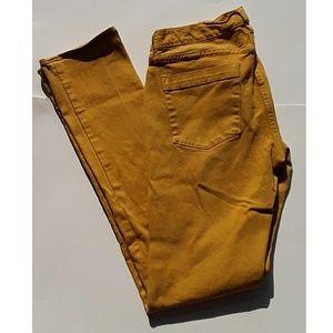 Mustard Yellow Jeans, 28 R